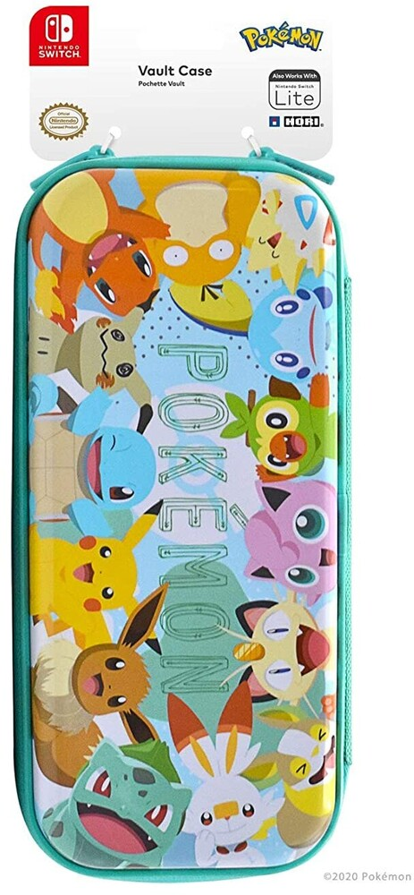 Hori Swi Vault Case - Pikachu & Friends - HORI Vault Case (Pikachu & Friends) for Nintendo Switch