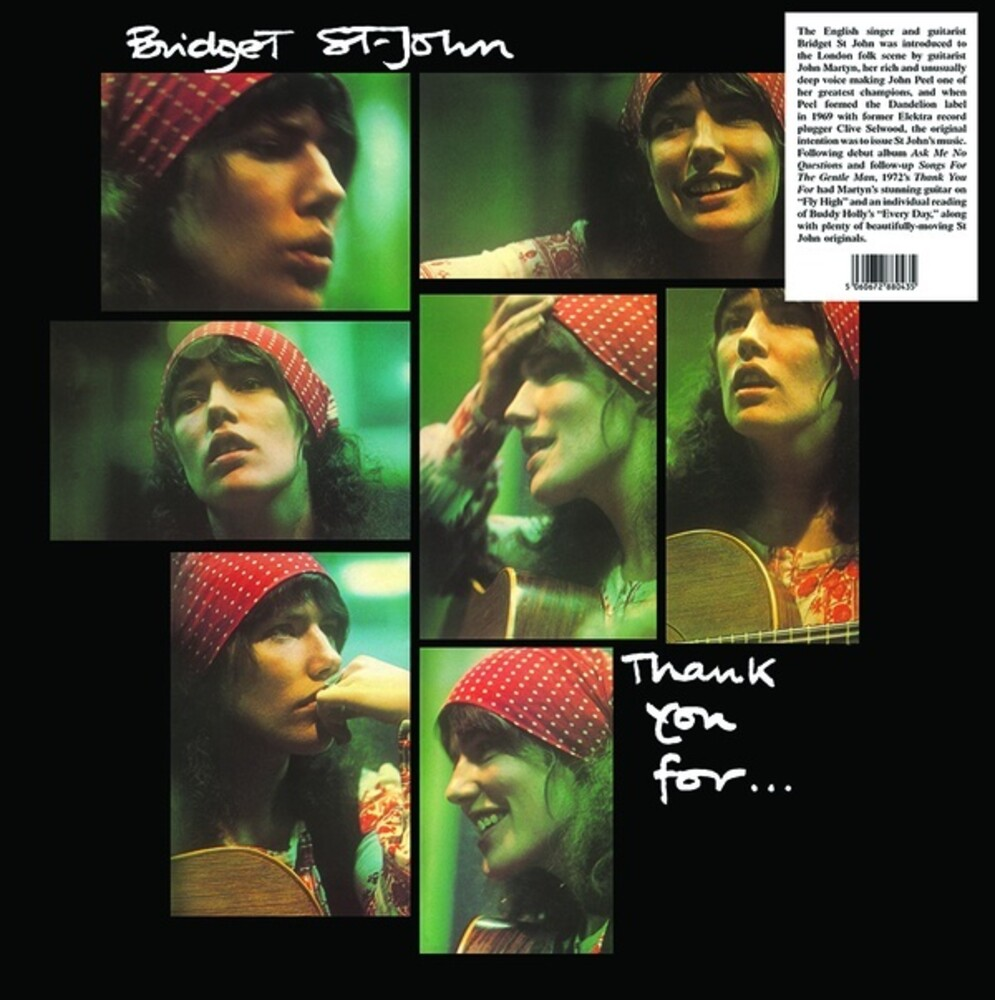 St Bridget John - Thank You For