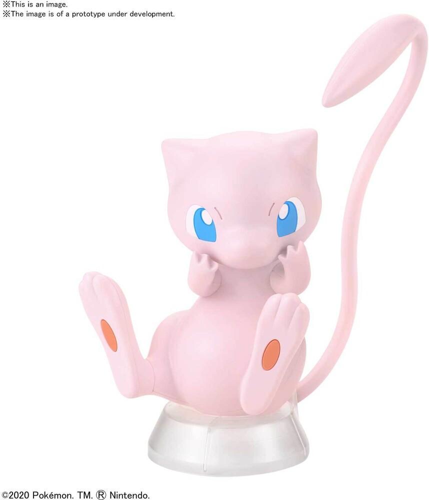 Bandai Hobby - Bandai Hobby - Pokemon Model Kit Quick!! 02 Mew