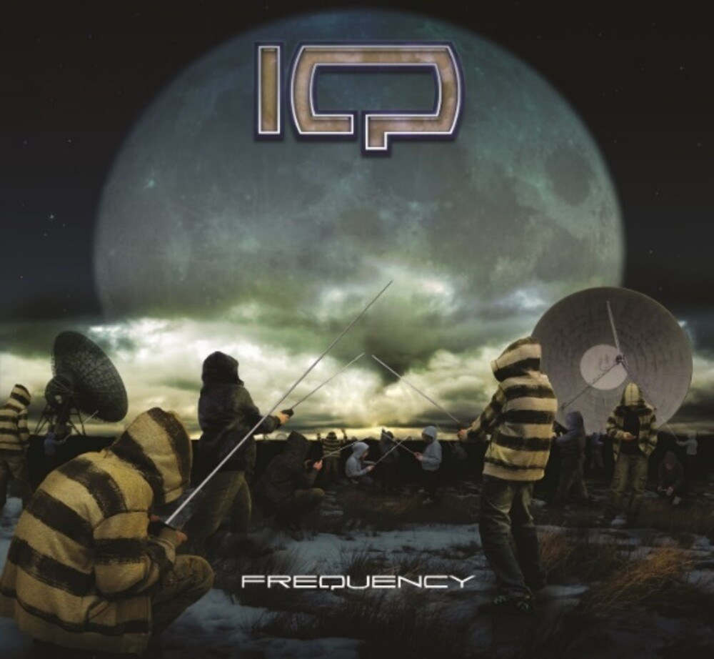 IQ - Frequency (Blue Splattered)