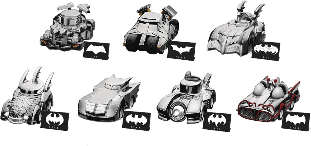 Beast Kingdom - Beast Kingdom - Batman Special Edition Pull Back Car Set