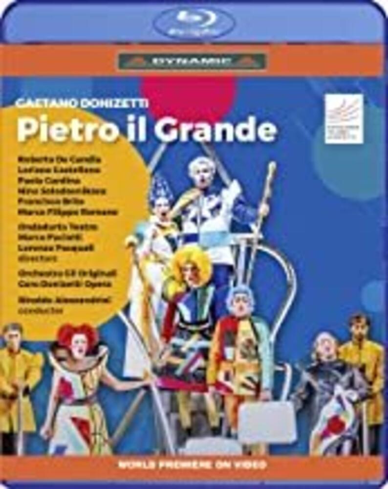 Donizetti / Alessandrini / Coro Donizetti Opera - Pietro Il Grande Kzar Delle Ru