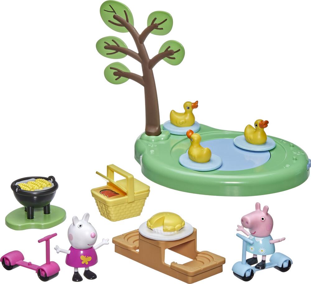 Pep Figure & Accessory Playset - Hasbro Collectibles - Peppa Pig Figure And Accessories Playset