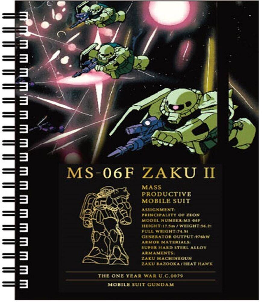 Sun Star - Gundam - Ring Note B6 GS5 MS-06F