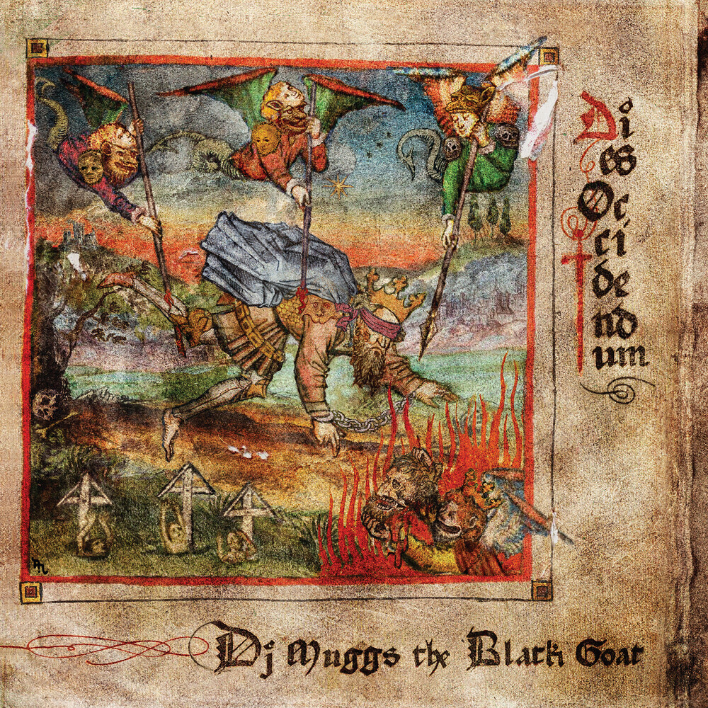 Dj Muggs The Black Goat - Dies Occidendum [Indie Exclusive] (Red Vinyl) (Red) [Indie Exclusive]