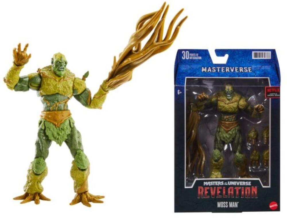 Masters Of The Universe - Motu Revelation Moss Man Classic