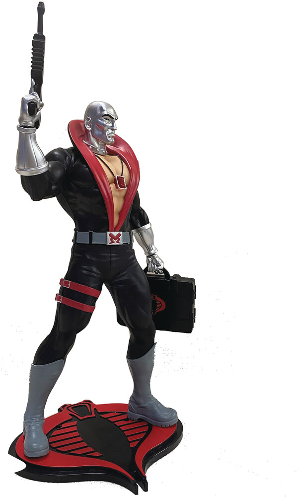 Pcs Collectibles - PCS Collectibles - G.I. Joe Destro 1:8 Scale PVC Statue