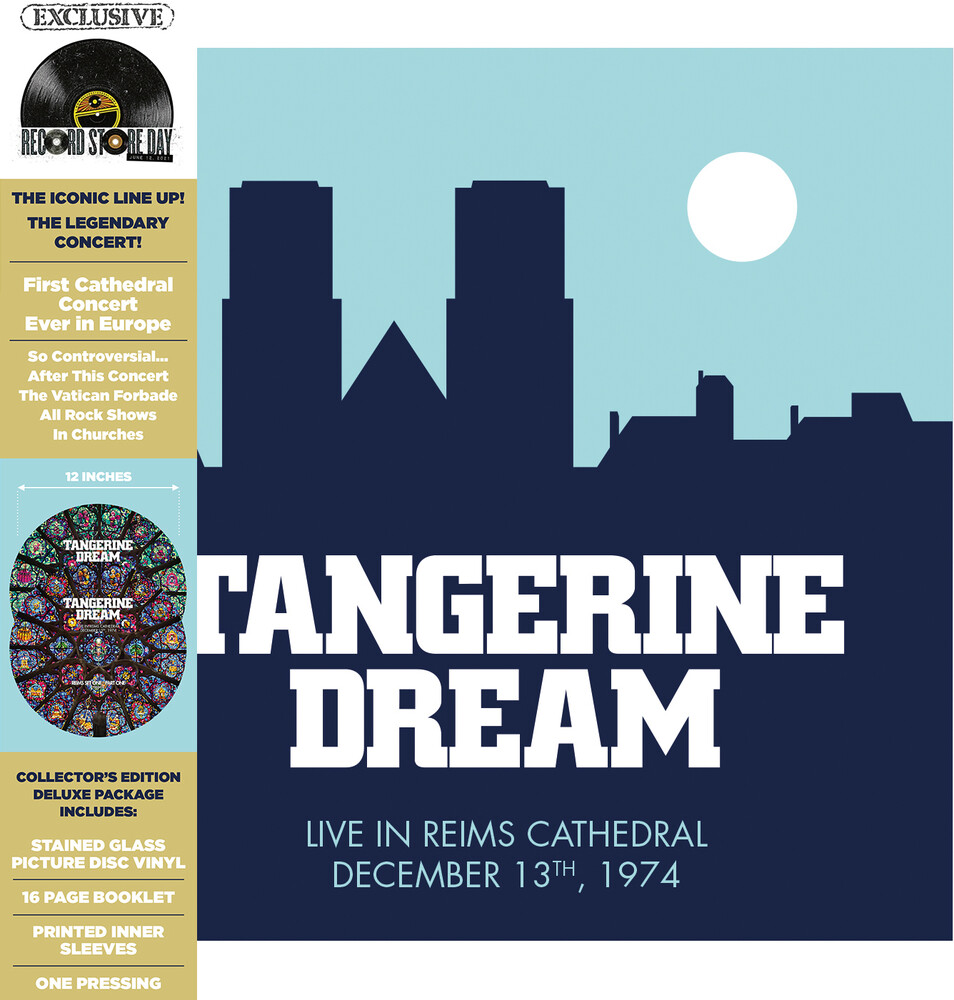 Tangerine Dream - Live At The Reims Cathedral [RSD Drops 2021]
