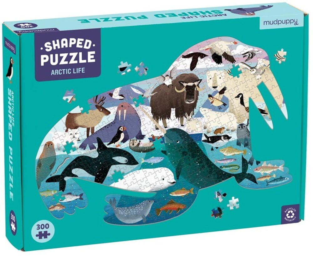 - Arctic Life 300 Piece Shaped Puzzle