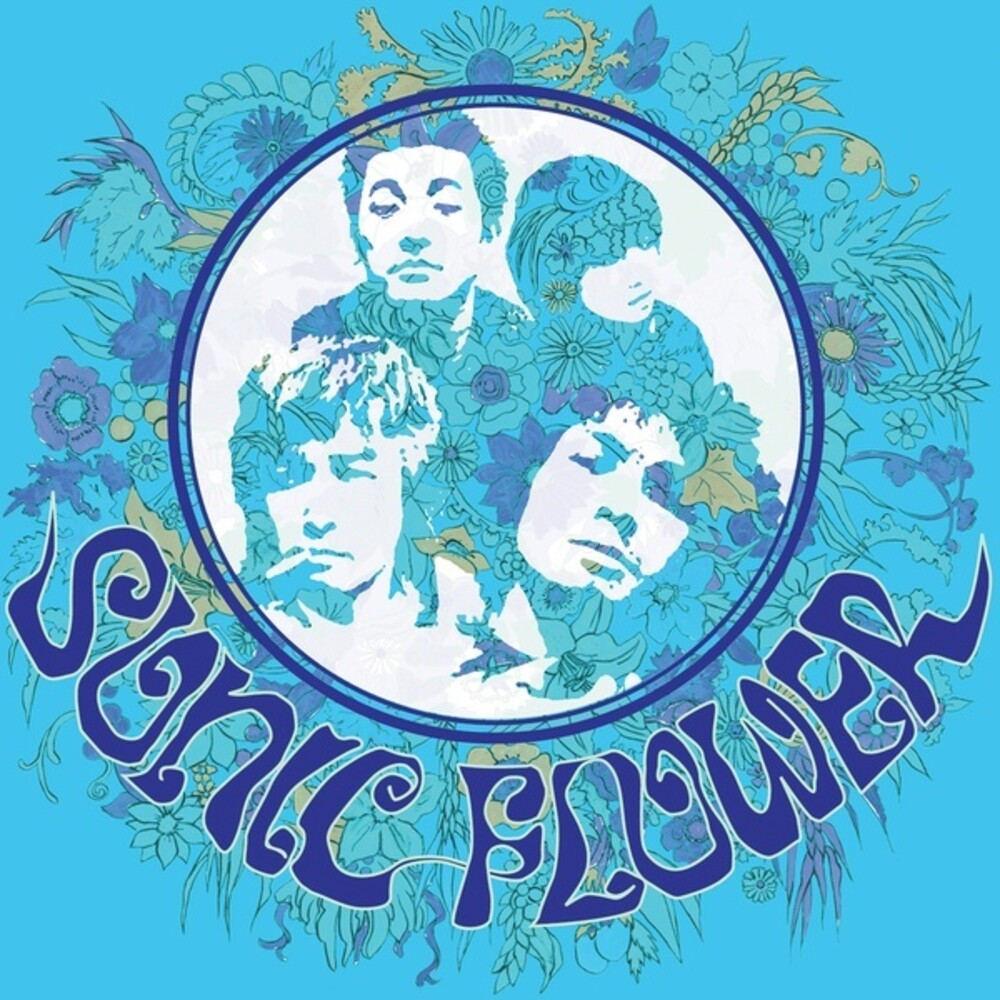 Sonic Flower - Sonic Flower (Blue) [Colored Vinyl] (Wht)
