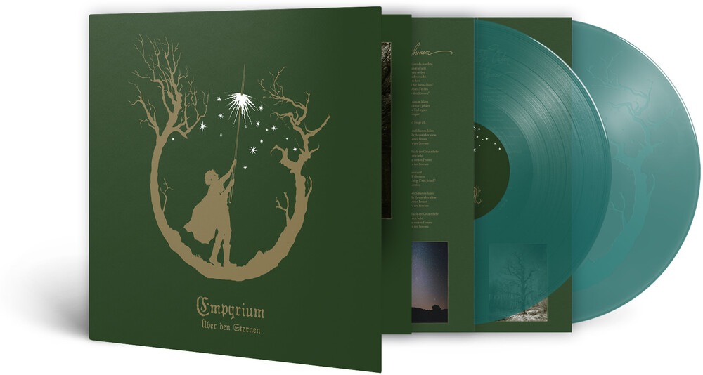 Empyrium - Uber Den Sternen (Green Transparent Vinyl) [Colored Vinyl]