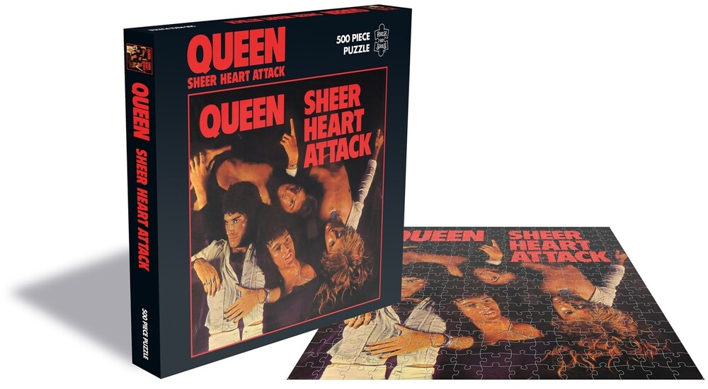 - Queen Sheer Heart Attack (500 Piece Jigsaw Puzzle)