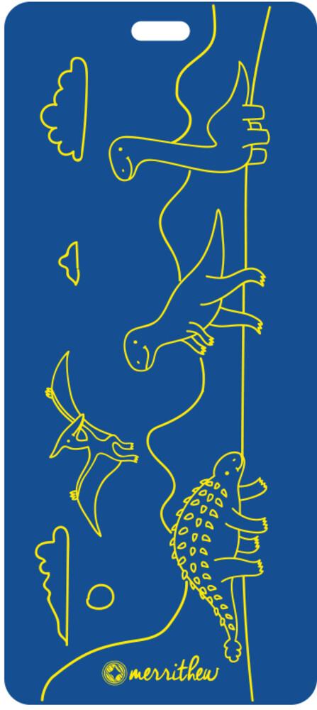 - Merrithew Eco Mat For Kids Dinoland (Blue) (Blue)