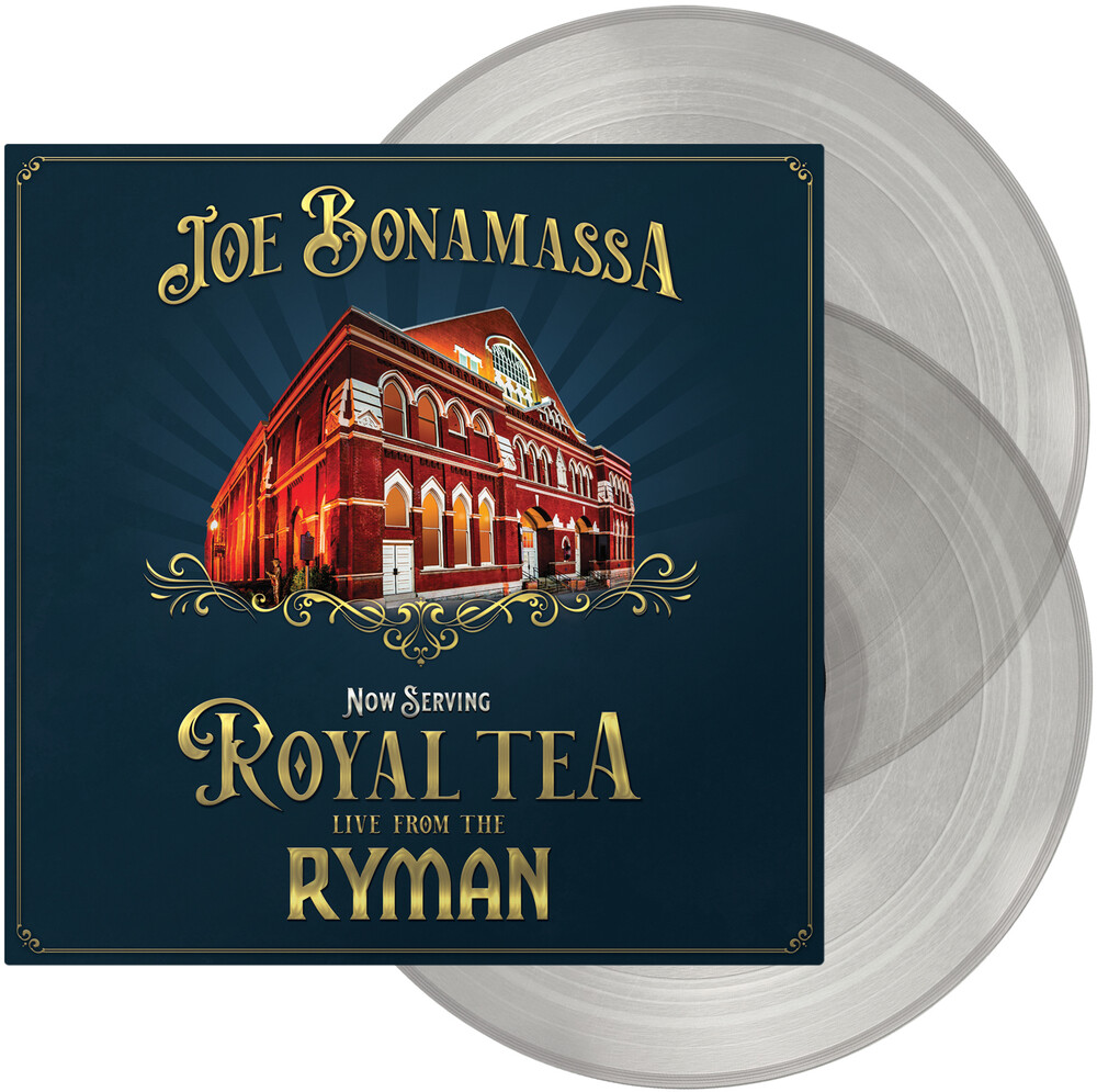 Joe Bonamassa - Now Serving: Royal Tea Live From The Ryman [Clear Vinyl]