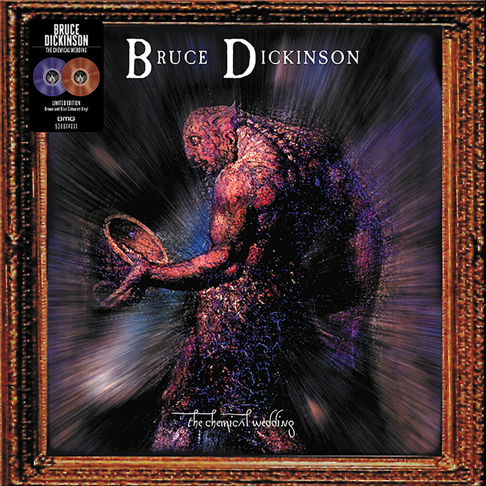 Bruce Dickinson - The Chemical Wedding [Limited Edition Brown/Blue LP]