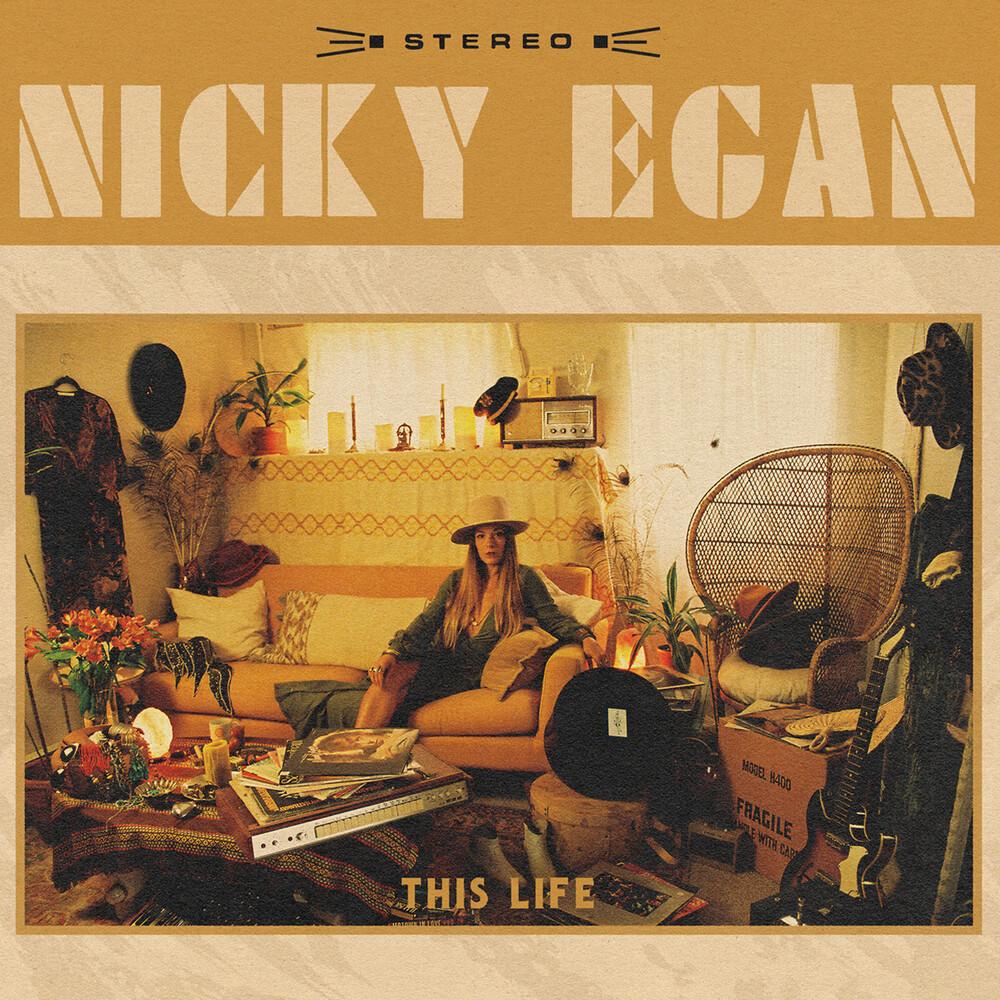 Nicky Egan - This Life [Indie Exclusive] (Translucent Orange Vinyl) [Colored Vinyl]