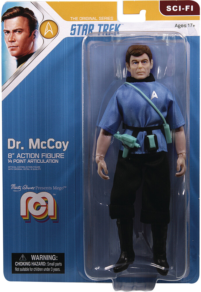 - Mego Sci-Fi Star Trek Tos Mccoy 8in Af (Afig)