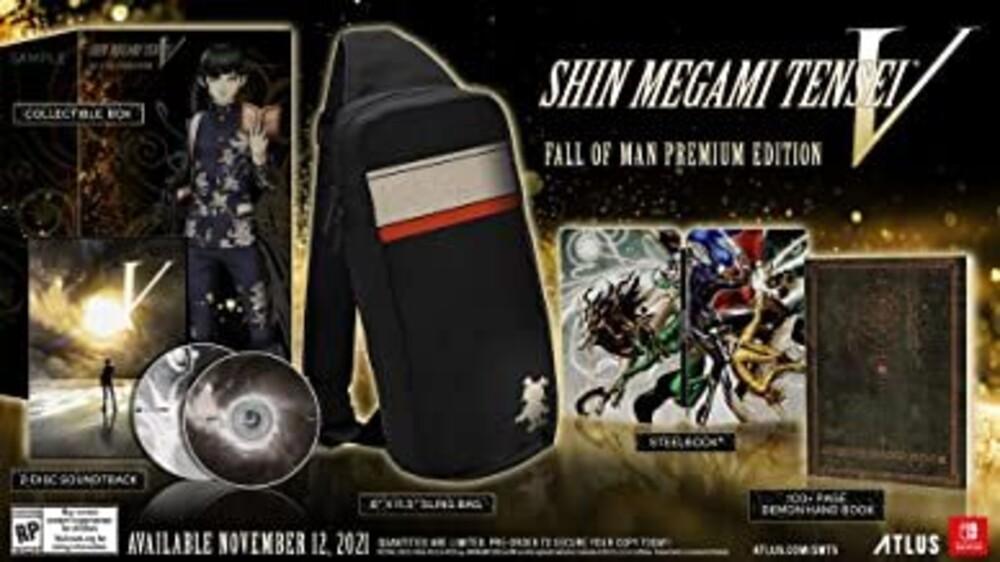 Swi Shin Megami Tensei V Premium Ed - Shin Megami Tensei V Premium Edition for Nintendo Switch