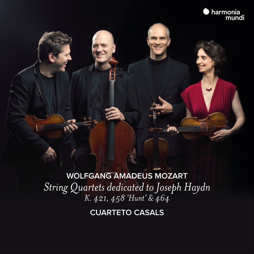 Cuarteto Casals - Mozart: String Quartets Vol. 2