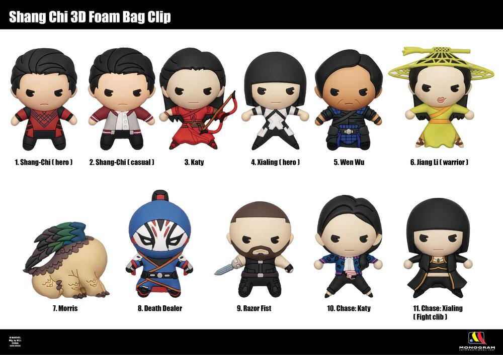 Shang-Chi (M) 3D Foam Bag Clip - Shang-Chi (M) 3d Foam Bag Clip (Key)