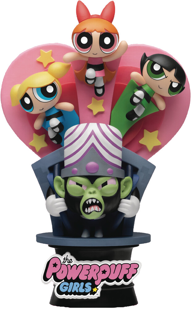 Beast Kingdom - Powerpuff Girls Ds-094 Have A Nice Day D-Stage Sta