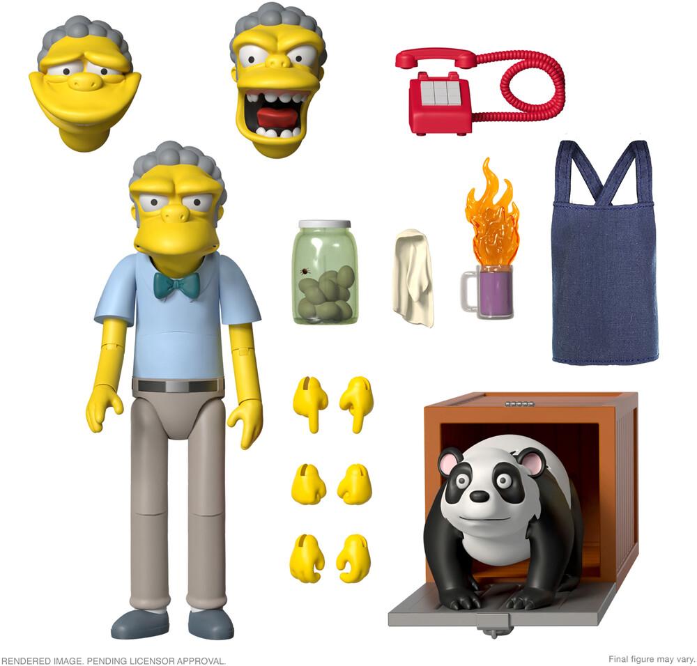 Simpsons Ultimates! Wave 1 - Moe - Simpsons Ultimates! Wave 1 - Moe (Afig) (Clcb)