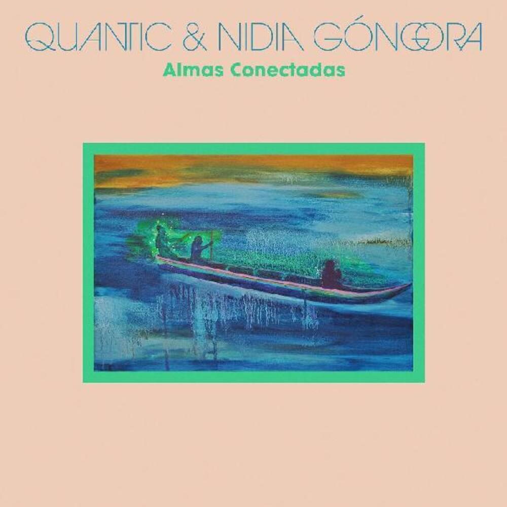 Quantic / Nidia Gongora - Almas Conectada (Blue) [Colored Vinyl] [Download Included]