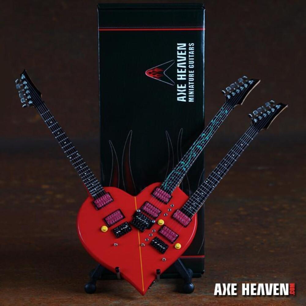 Steve Vai - Steve Vai Ibanez Tripleneck Mini Guitar Replica