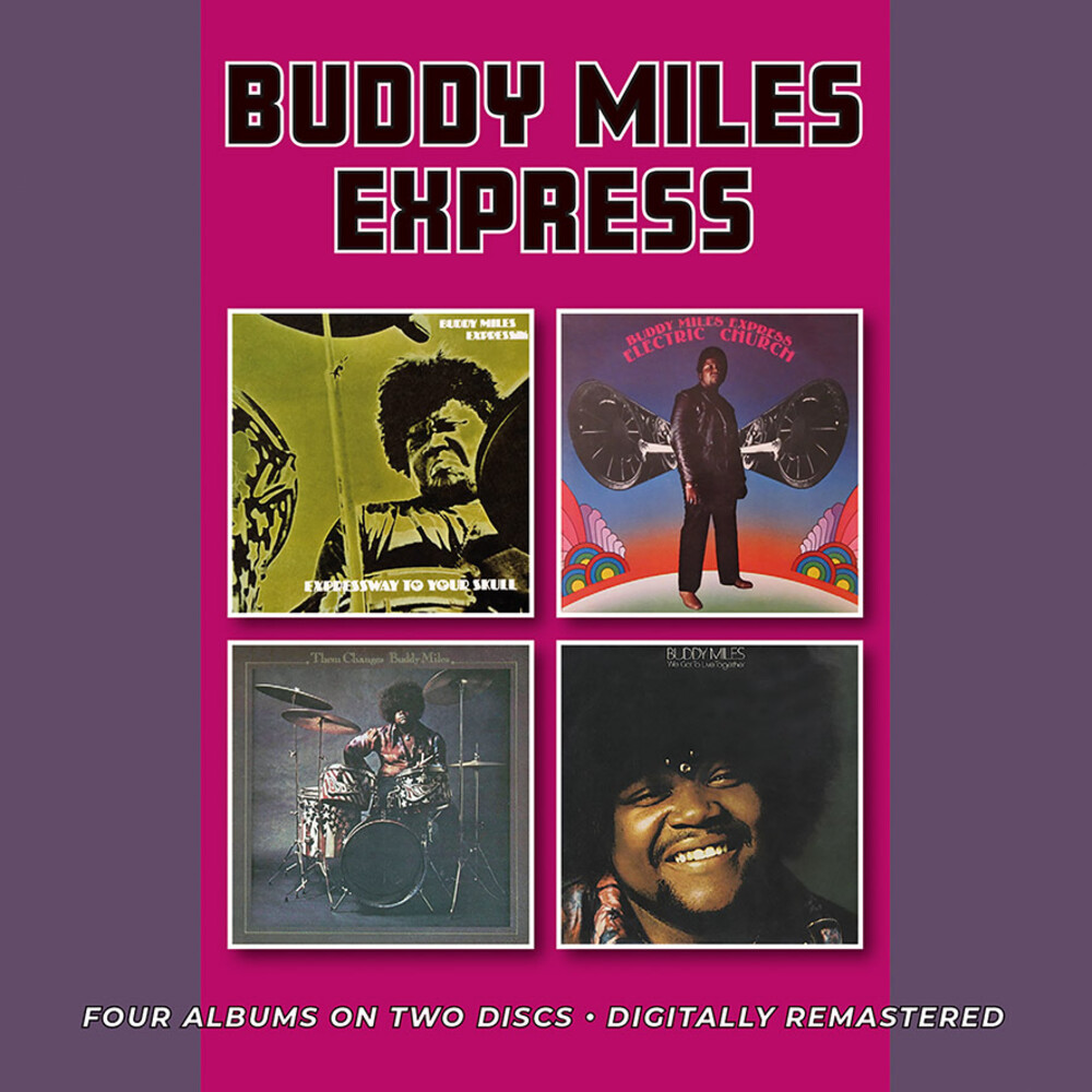 Buddy Miles  Express - Expressway To Your Skull / Electric Church / Them