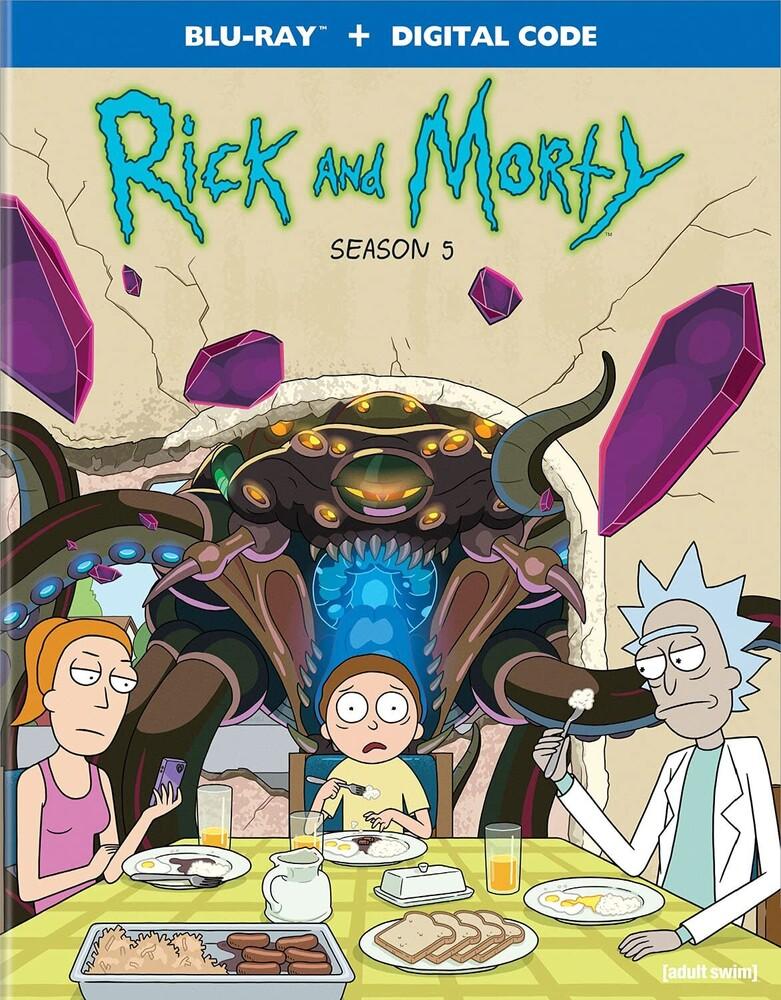 Rick & Morty: The Complete Fifth Season - Rick & Morty: The Complete Fifth Season / (Digc)