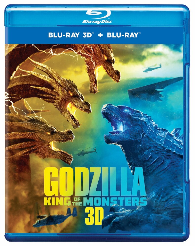 Godzilla [Movie] - Godzilla: King of the Monsters [3D]