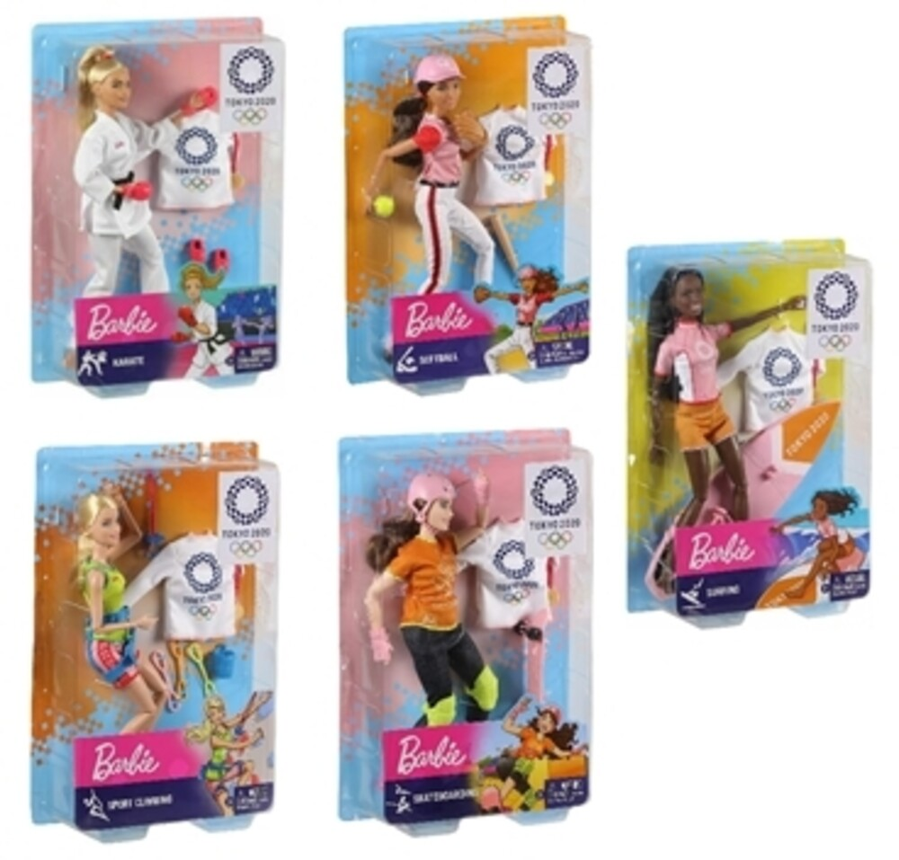 Barbie - Mattel - Barbie Career Olympics Doll Assortment