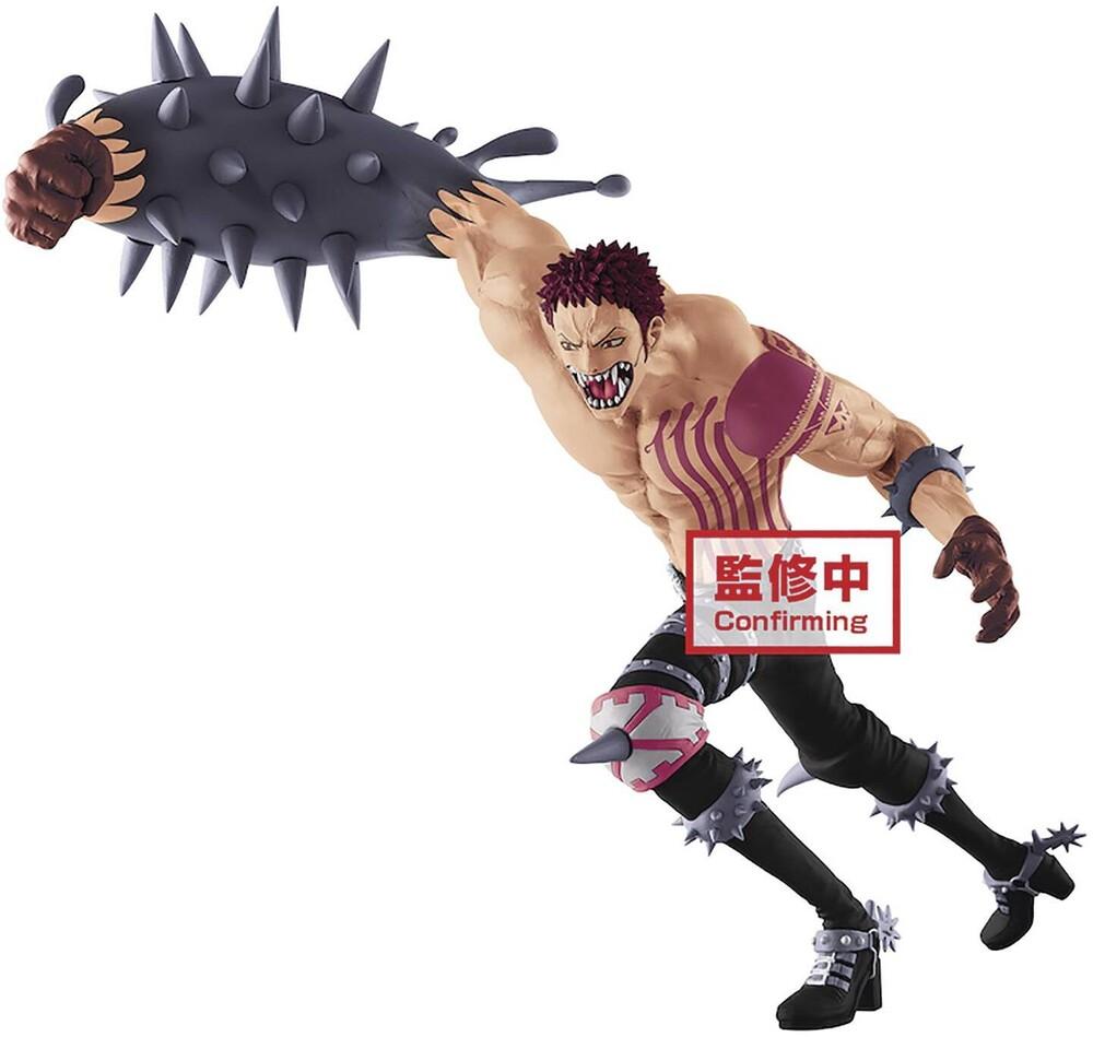 Banpresto - BanPresto One Piece Battle Record Collection Charlotte Katakuri Figure