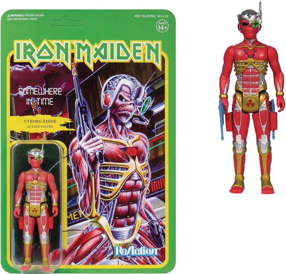 Iron Maiden - Iron Maiden ReAction Figure - Somewhere in Time (Album Art)