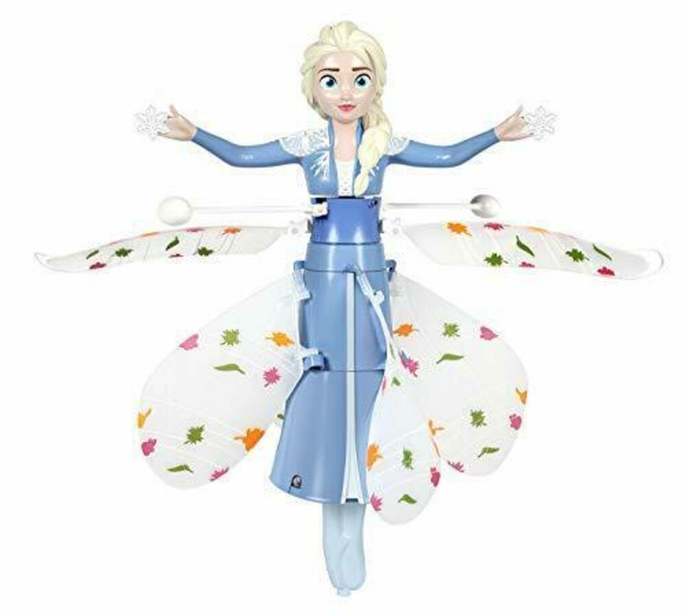 Flying Figure - Disney Frozen Elsa Motion Sensing 7.5 Inch IR UFO Helicopter (Disney, Frozen)
