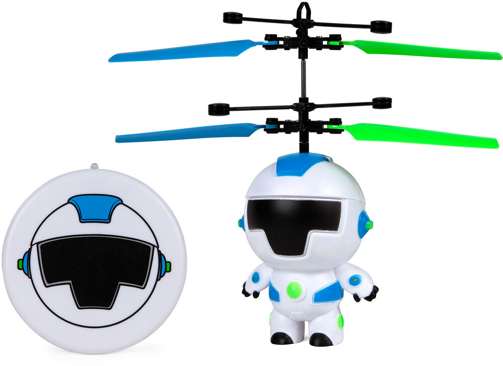Rc Figures - Robot Motion Sensing 3.5 Inch UFO Helicopter with Remote
