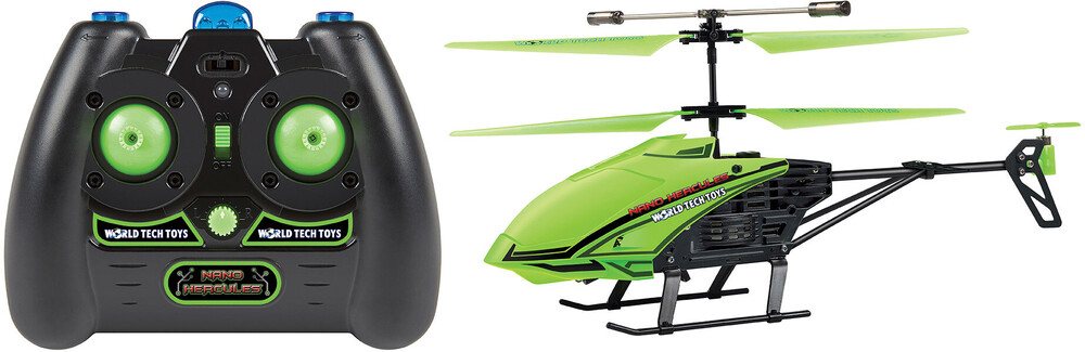 "Rc Helicopters - 3.5CHs: Nano Hercules ""Glow in the Dark"" IR UNBREAKABLE Gyro Helicopter"