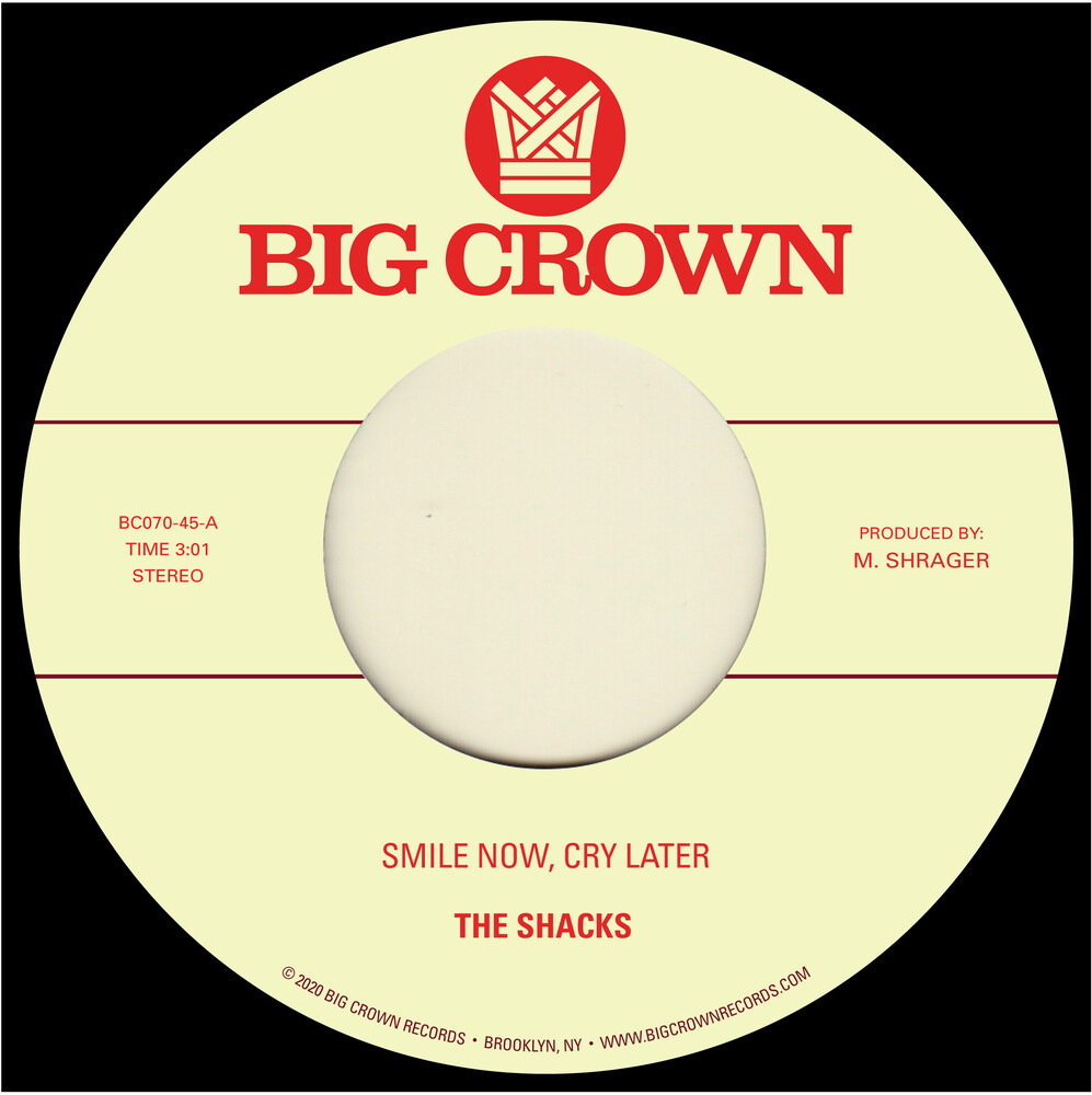 Shacks & Brainstory - Smile Now, Cry Later B/W Runaway