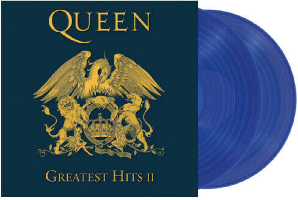 Queen - Greatest Hits II [Import Limited Edition Blue 2LP]
