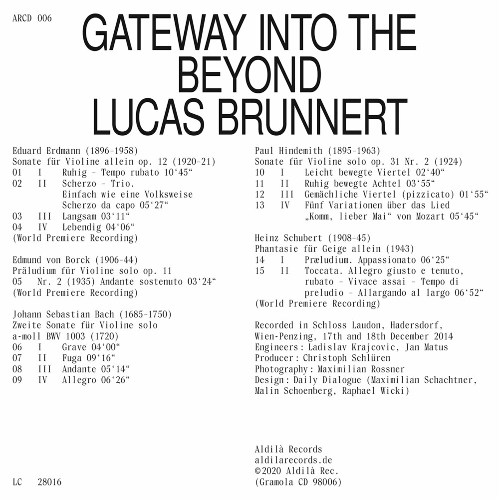 Gateway Into The Beyond / Various - Gateway Into The Beyond / Various