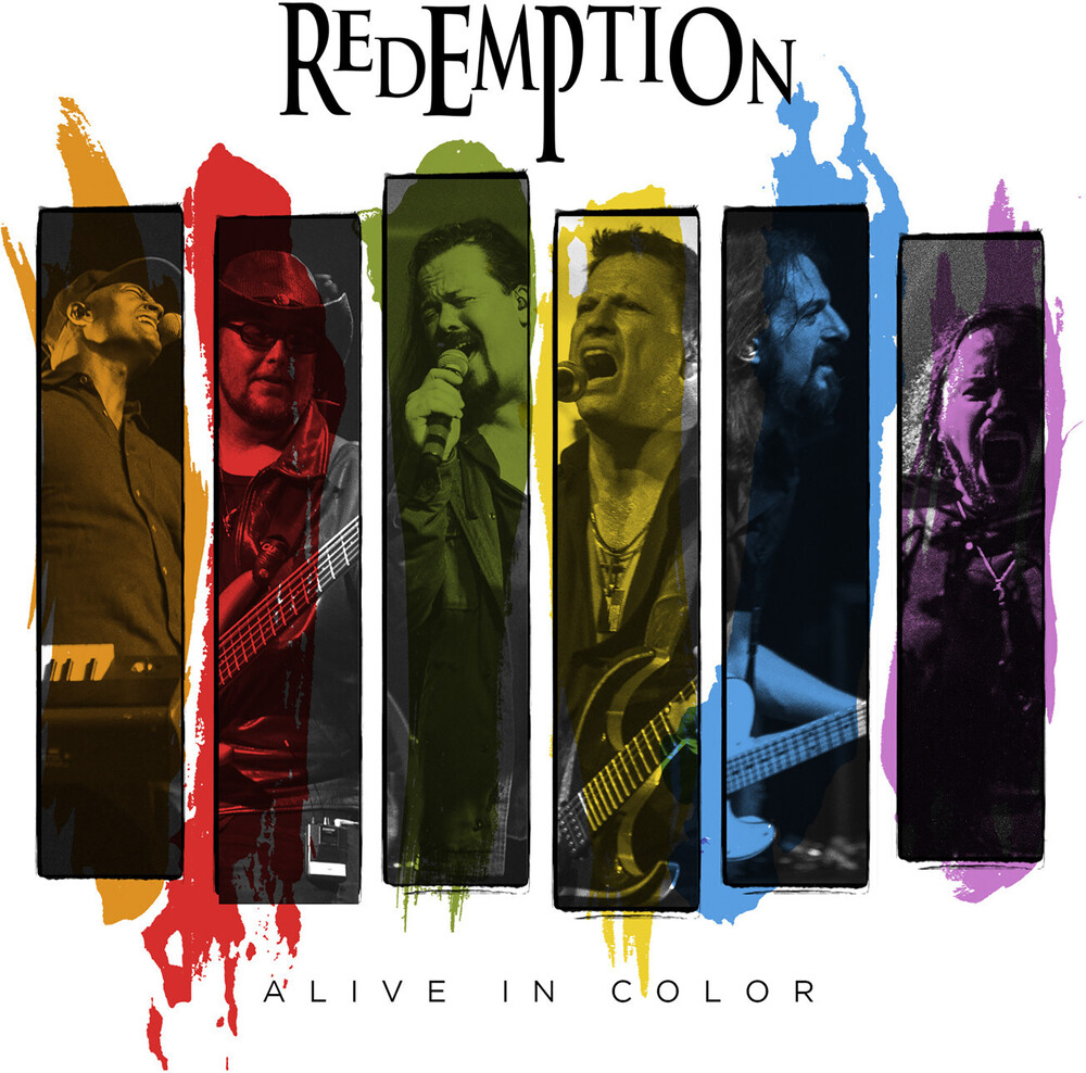 Redemption - Alive In Color (2CD+DBluRay)