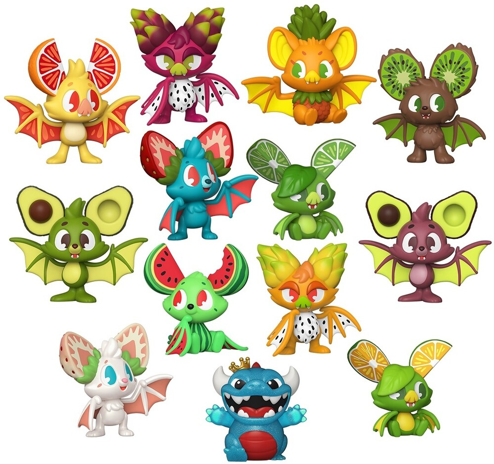 - FUNKO PAKA PAKA: Fruit Bats (One Paka Paka Figure Per Purchase)