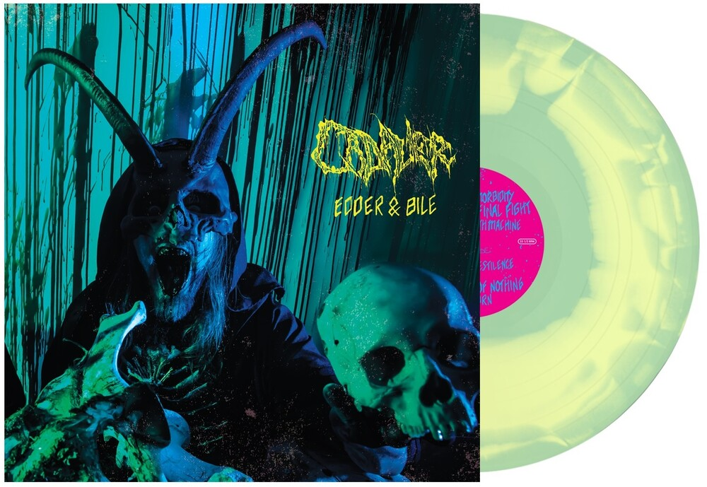Cadaver - Edder & Bile [Limited Edition Mint Green / Yellow SwirlLP]