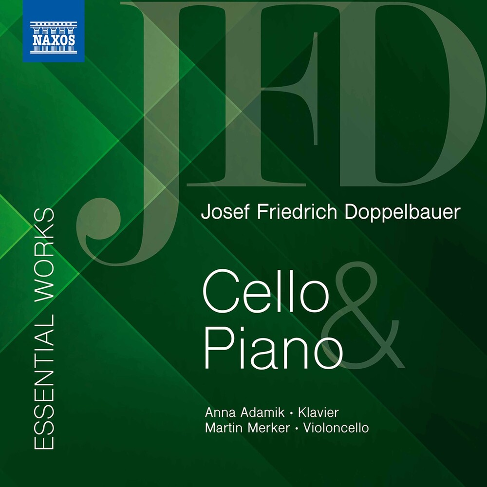Doppelbauer / Adamik / Merker - Essential Works Cello & Piano