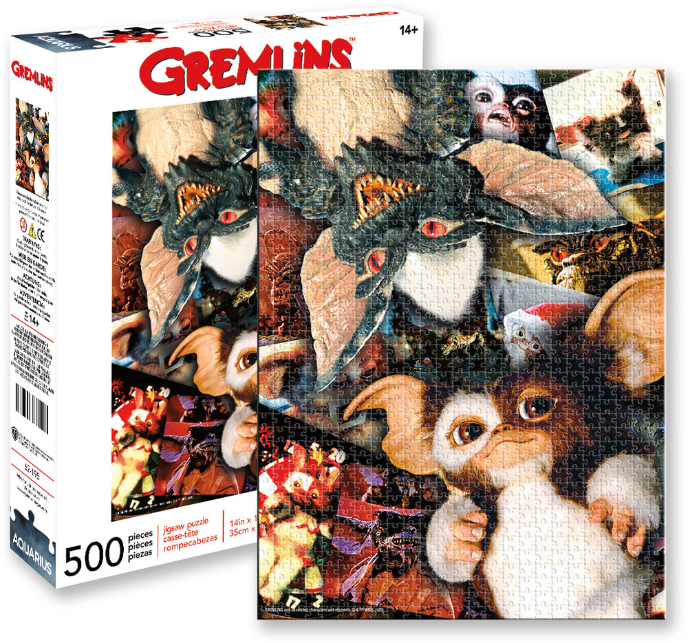 Gremlins Collage 500 PC Puzzle - Gremlins Collage 500 Pc Puzzle