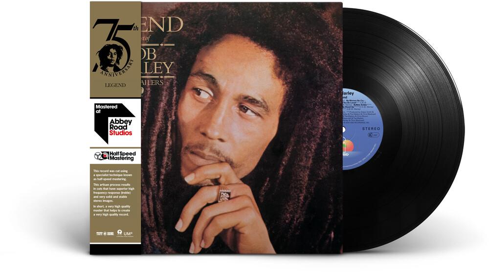 Bob Marley & The Wailers - Legend: Half-Speed Mastering [LP]