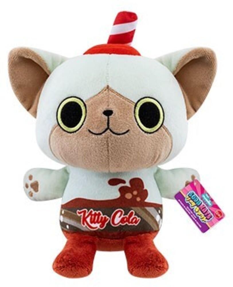 """Funko Paka Paka Plush: - FUNKO PAKA PAKA PLUSH: Soda Kat- Kitty Cola 7"""""""