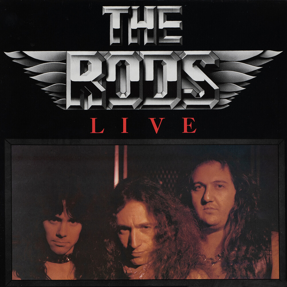 Rods - The Rods Live (Special Deluxe Collector's Edition)