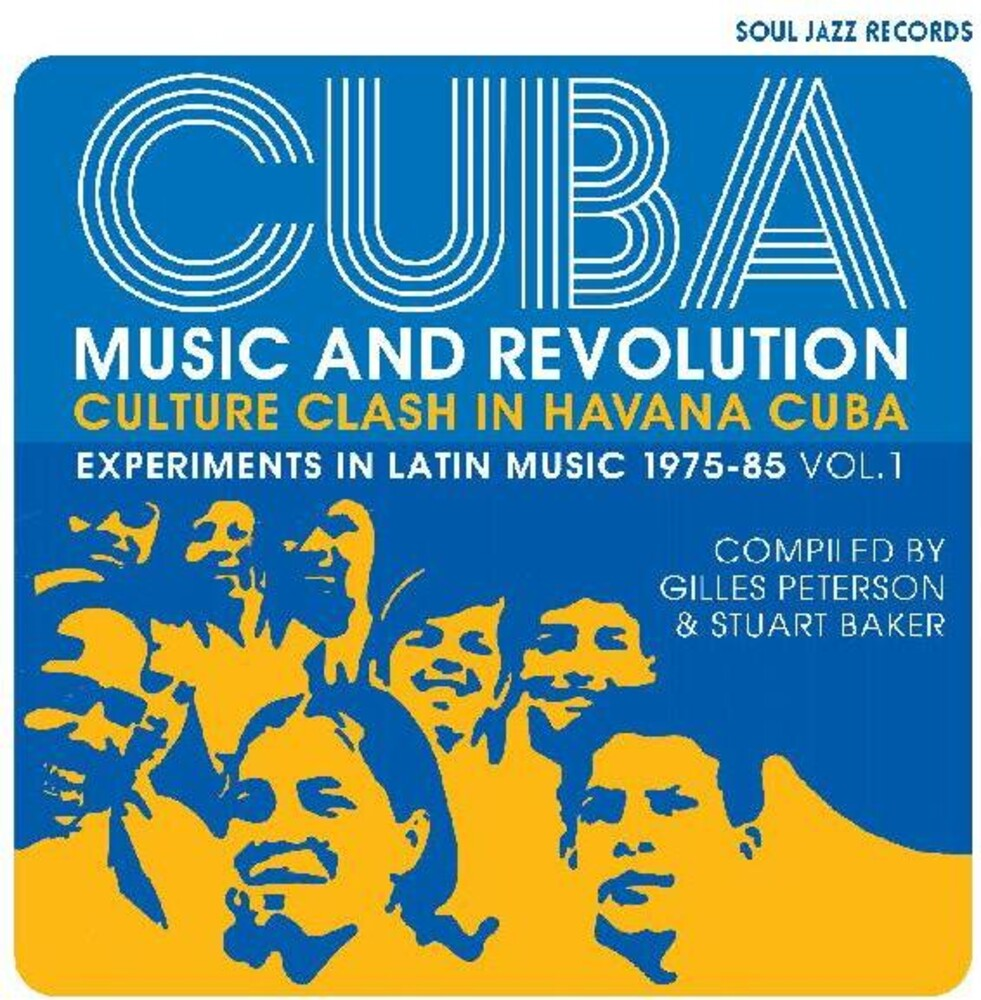 Soul Jazz Records Presents - Cuba: Music And Revolution: Culture Clash in Havana: Experiments inLatin Music 1975-85 Vol. 1 [LP]