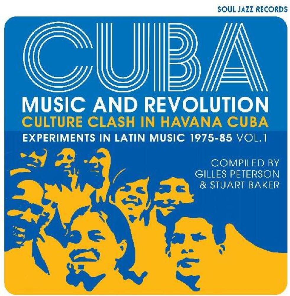 Soul Jazz Records Presents - Cuba: Music And Revolution: Culture Clash in Havana: Experiments inLatin Music 1975-85 Vol. 1 [LP]